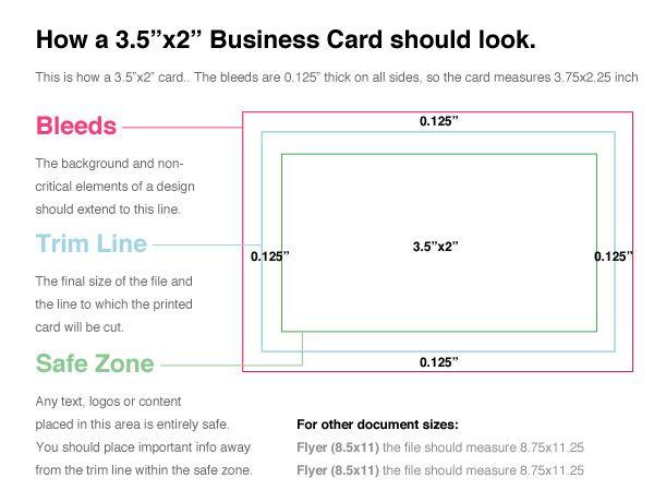 Http Envato Knowledgebase S3 Amazonaws Com Item 20tips Bleedlines Jpeg Stunning Business Cards Business Card Dimensions Business Card Fonts