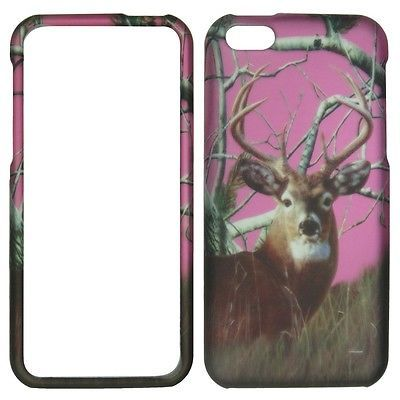 Pink Black Deer Apple iPhone 5C Case AT&T Verizon Sprint T-Mobile & All Carriers | eBay