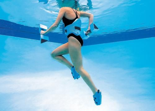 Shake Up Your Workout By Getting In The Pool Water