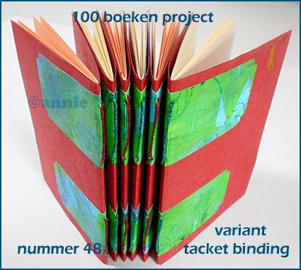 Annie Bodelier, centipede: tacket binding