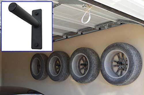 Amazon Com Fibrehead Fh 4wh Flush Wheel Hangers Set Wall Mount Tire Rack Alternative Grey Home Improvement Tire Rack Garage Accessories Diy Garage Storage