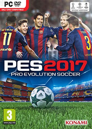 PRO EVOLUTION SOCCER (PES) 2017 REPACK (2 8 GB) TAGS pro