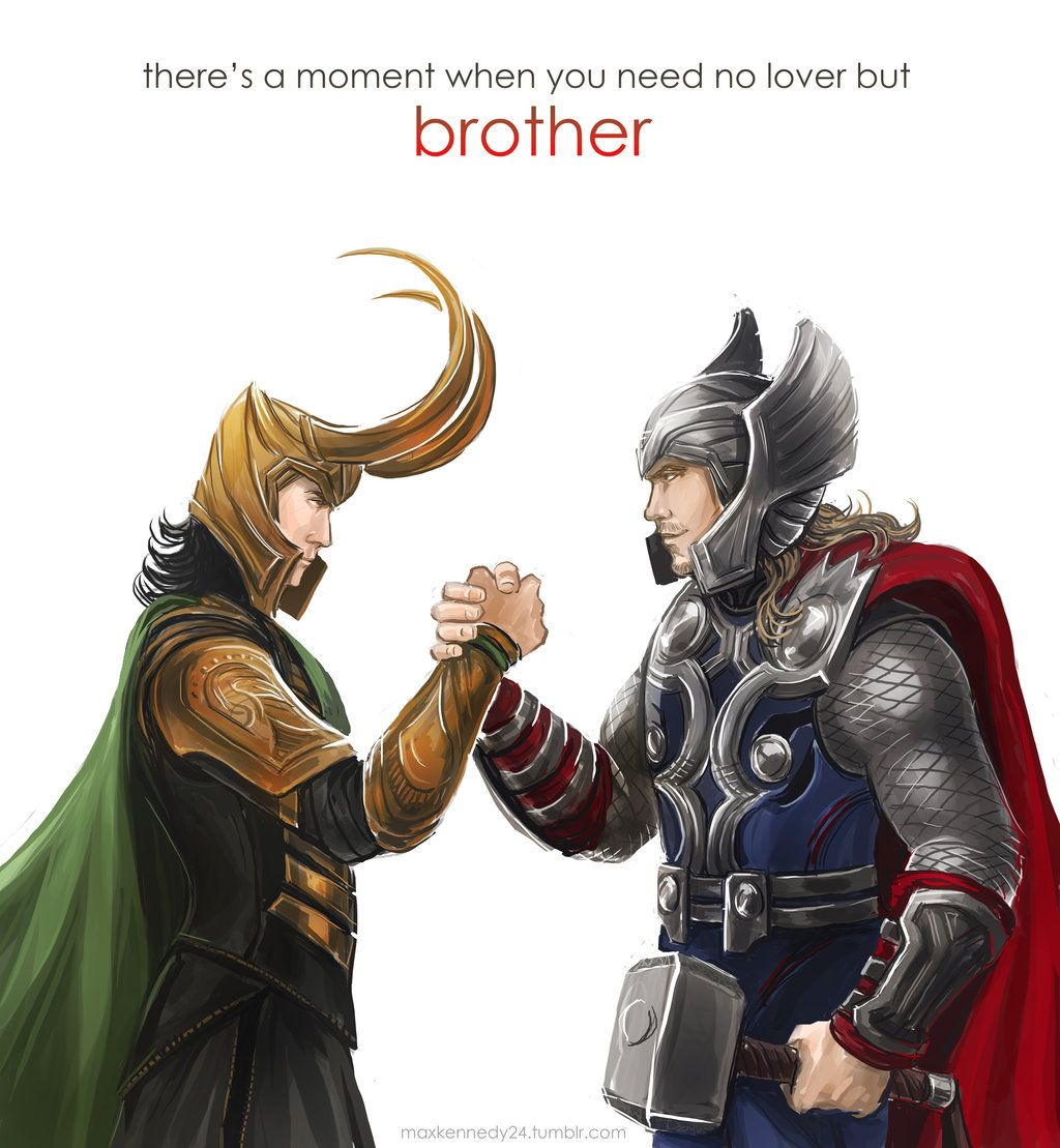 Thor - Brothers by maXKennedy.deviantart.com on ...