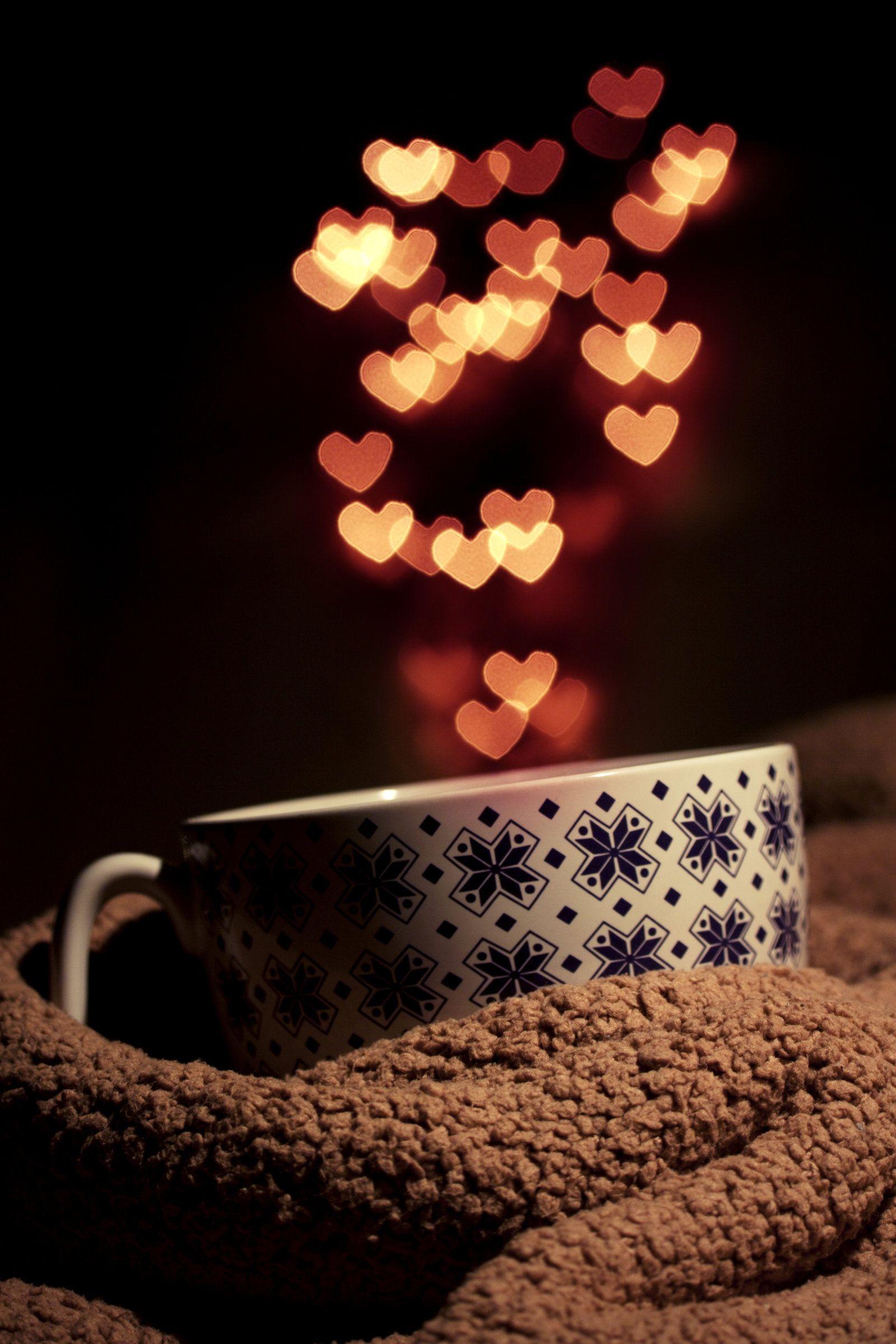 Hot coffee chocolate his