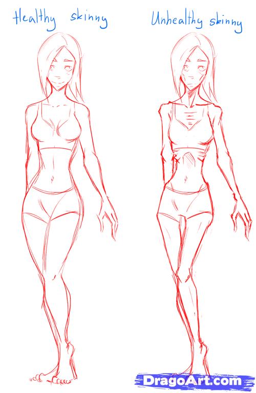 Slim Body Drawing