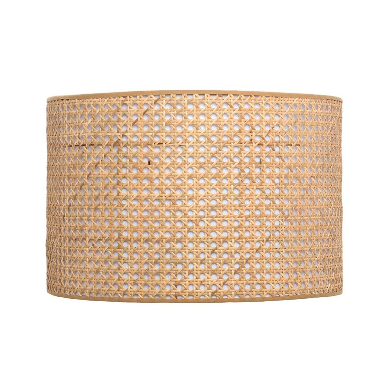 Verve Design Rattan Drum Lamp Shade Drum Lampshade Lamp Shade Rattan Shades