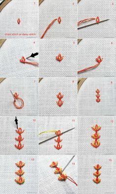 Stitch Fun! Tulip Stitch Tutorial