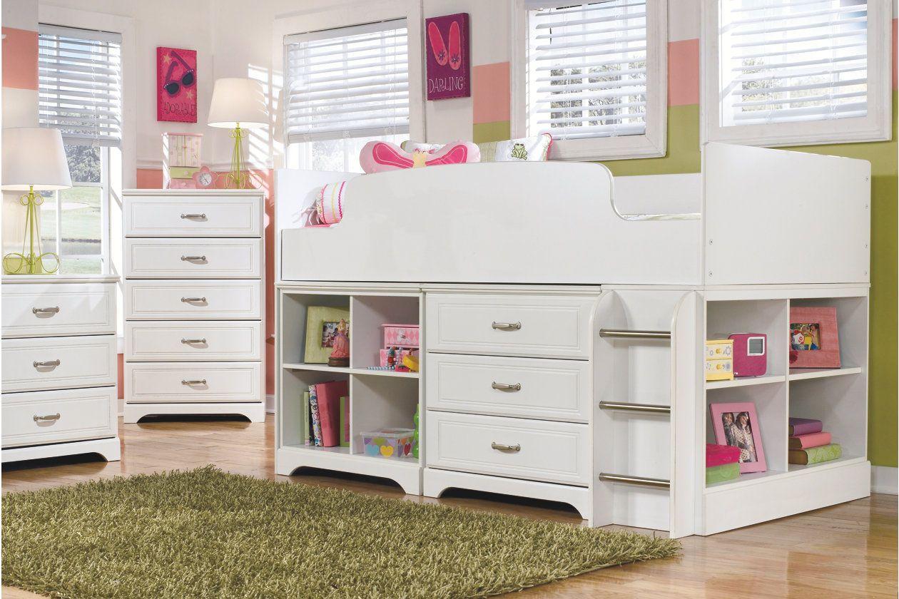 Best Lulu Loft Drawer Storage White Twin Loft Bed White 400 x 300