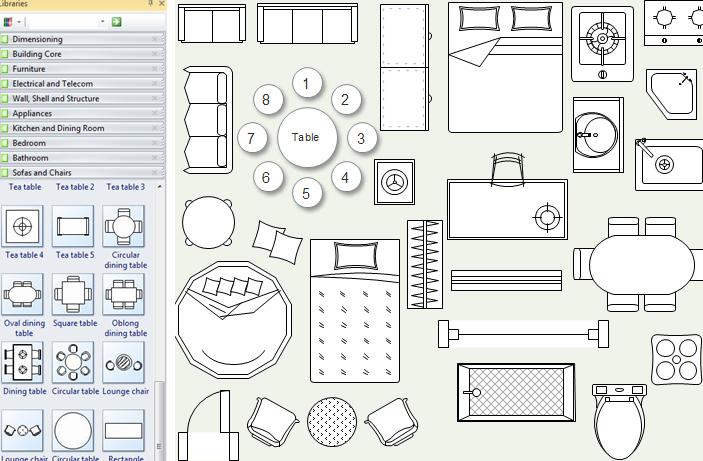 Image Associee Floor Plan Symbols Floor Planner Floor Plan Drawing