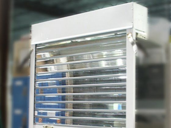 530 Series Polycarbonate Roll Up Door Glassessenial A1