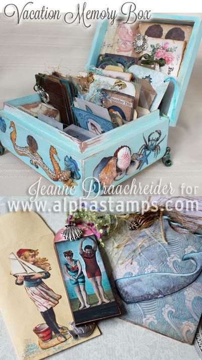 Alpha Stamps News » Vintage Vacation Memory Box (+ FREE Gift Kit & Giveaway!)