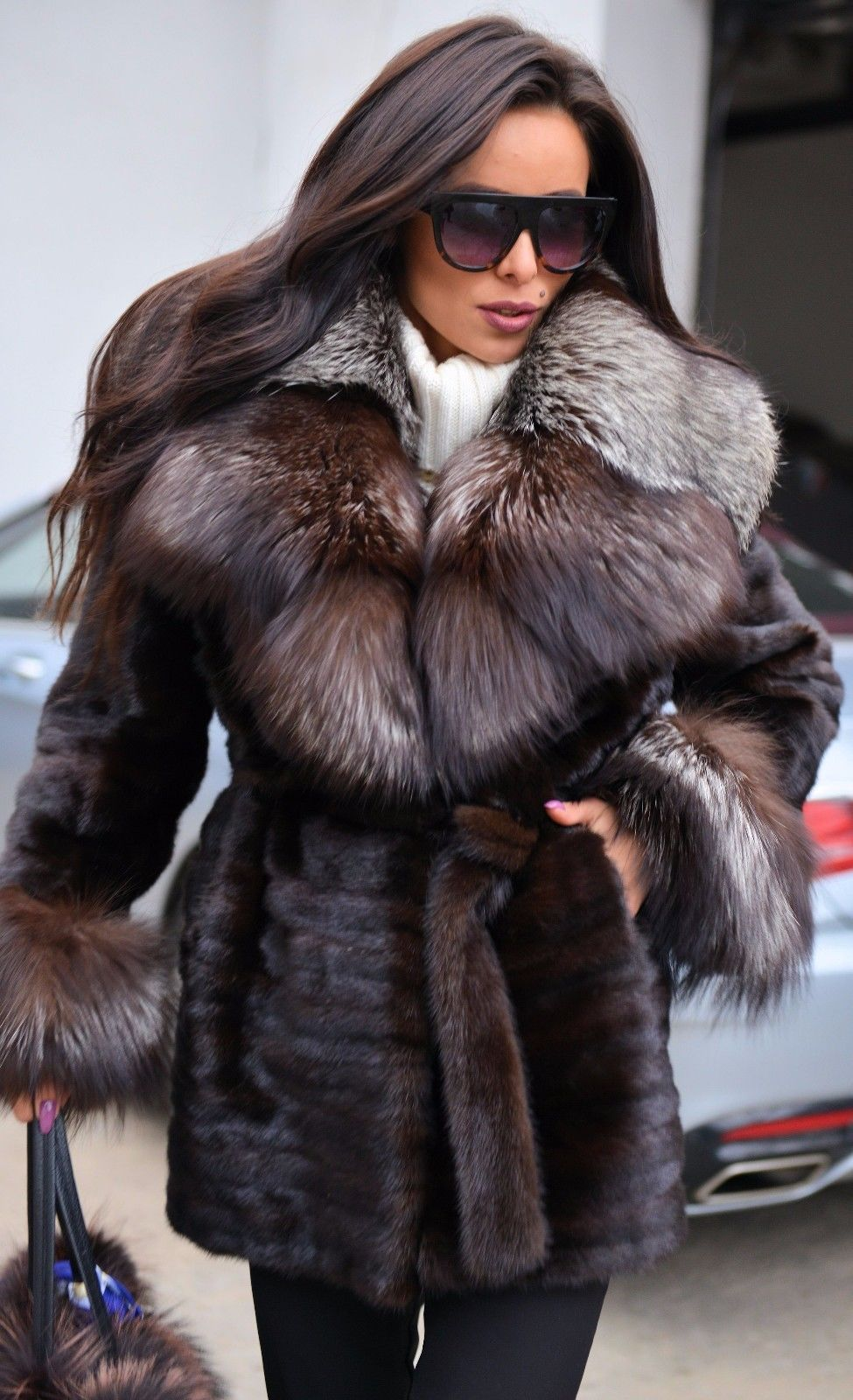 Where is this coat?! I must have it!! Fur fashion