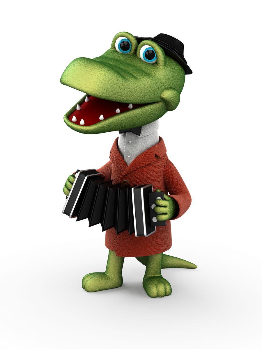 Скачать картинку Крокодил Гена (с изображениями ...