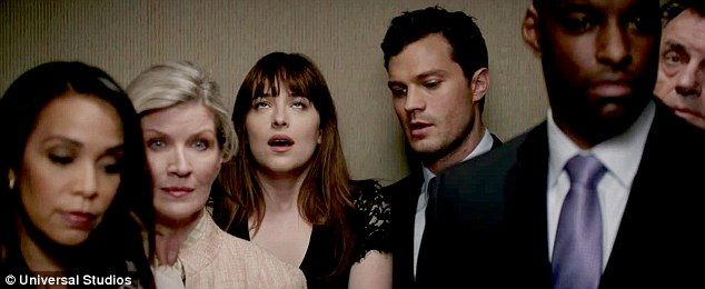 Still crazy in love! Universal and Focus Features unveiled the second trailer for Fifty Shades Darker on Wednesday