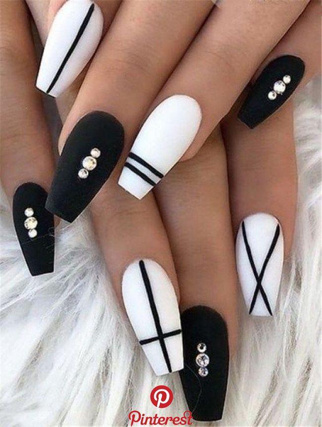 20 Matte Black Coffin Nail Ideas Trend 2019 32 20 Matte Black Coffin Nail Ideas Trend 2019 32 Fall Acrylic Nails Best Acrylic Nails Black Coffin Nails