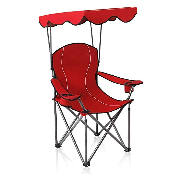 Awe Inspiring Alpha Camp Shade Canopy Chair Folding Camping Chair Support Cjindustries Chair Design For Home Cjindustriesco