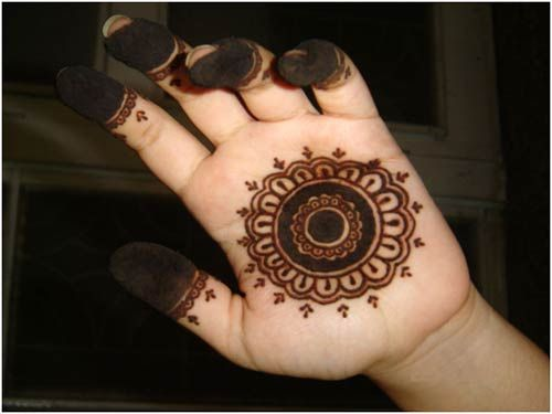 Mehndi Makeup Step By Step : Amazing pakistani mehndi designs to try in makeup steps