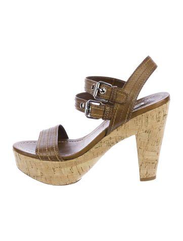 Miu Miu Cork Sandals