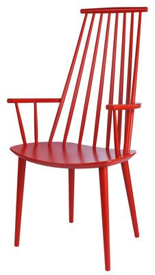 Hay J110 Armchair Red Made In Design Uk In 2020 Chair Design Dining Chairs Hay Chair
