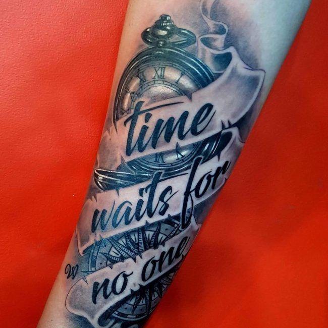 19 watch tattoo design ideas