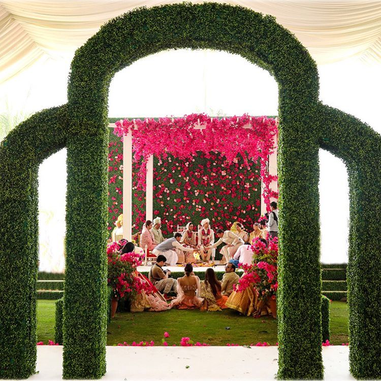 Celebrity Wedding Reception Decor: Pin By Magalie Leger On Drapes And Aisles Decor
