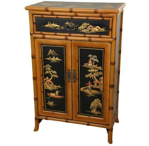 Oriental Furniture Elegant Asian Style Furniture 36 Inch Ching Design Chinese Lacquer Shoe Cabinet Hall C Oriental Furniture Shoe Cabinet Shoe Storage Cabinet