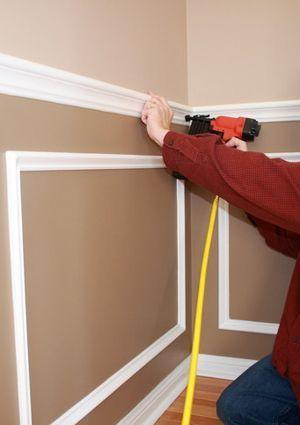 How To Install Chair Rail Molding Wandverkleidung Haus Gestalten Und Wandverkleidung Holz