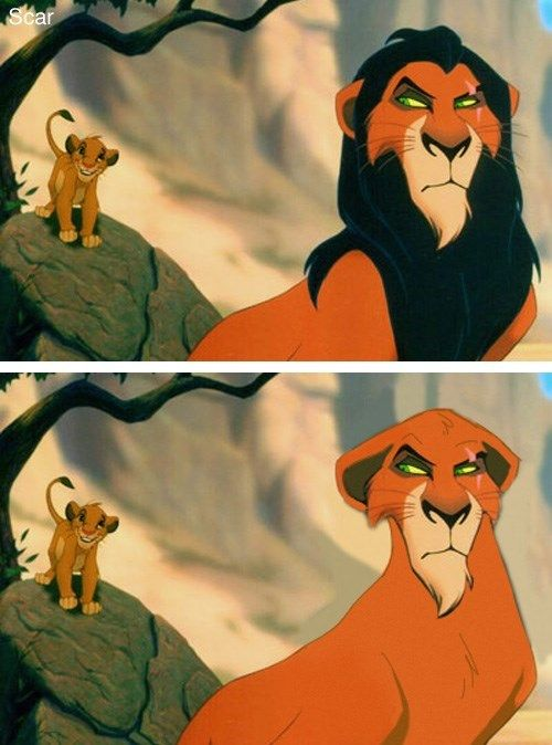 What Do Disney Characters Look Like Without Beards?