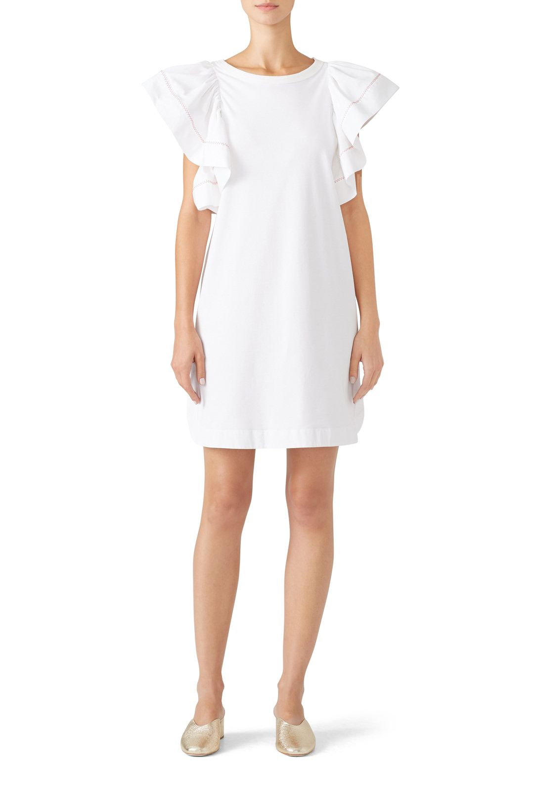 4d4d4d416ee Rent Flouncy Sleeve Dress by See by Chloe for  55 only at Rent the Runway.