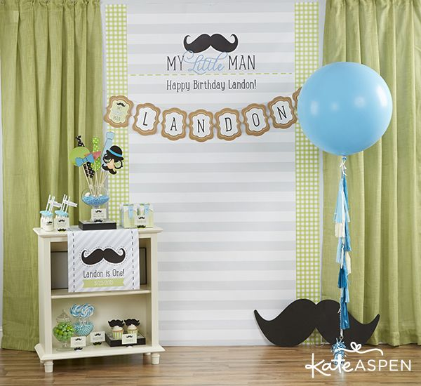 birthday party first birthday kate aspen photobooth backdrop