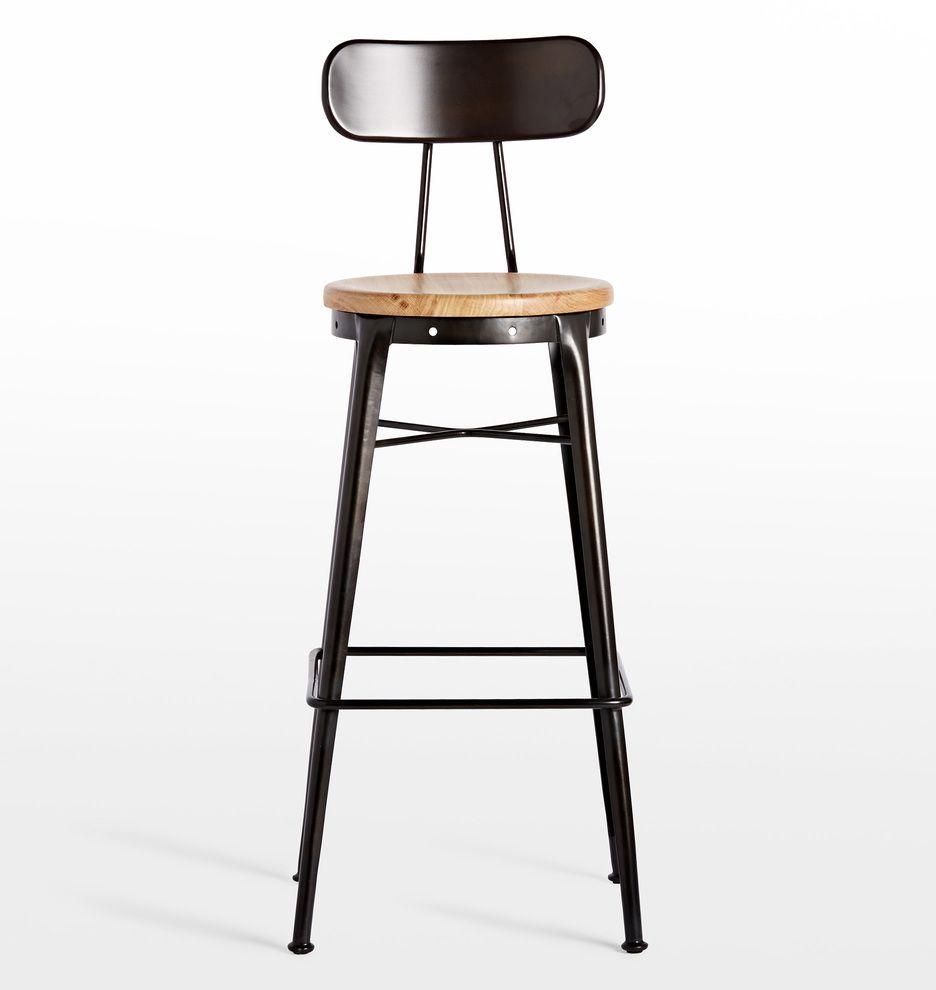 Cobb Bar Stool with Back | Bar stool, Stools and Bills kitchen