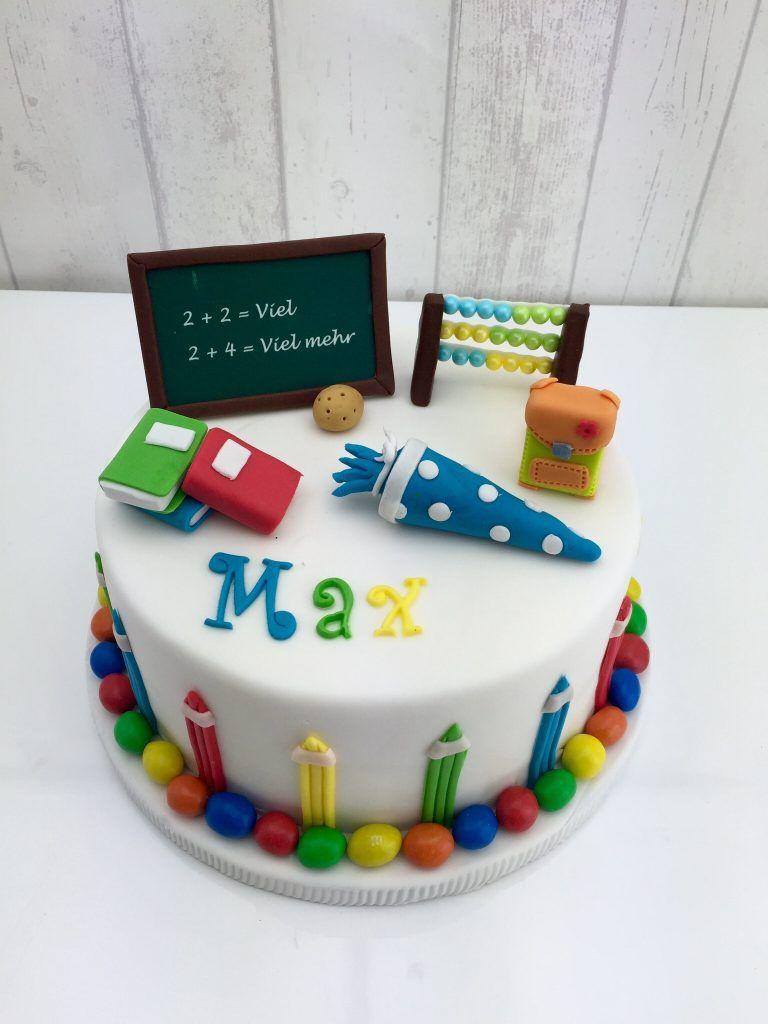 Motivtorten Was Das Herz Begehrt Kuchen Einschulung Torte Einschulung Lehrer Kuchen