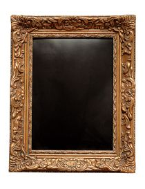 le tableau ardoise baroque cadre dor deco pinterest cadre dor ardoise et tableau ardoise. Black Bedroom Furniture Sets. Home Design Ideas