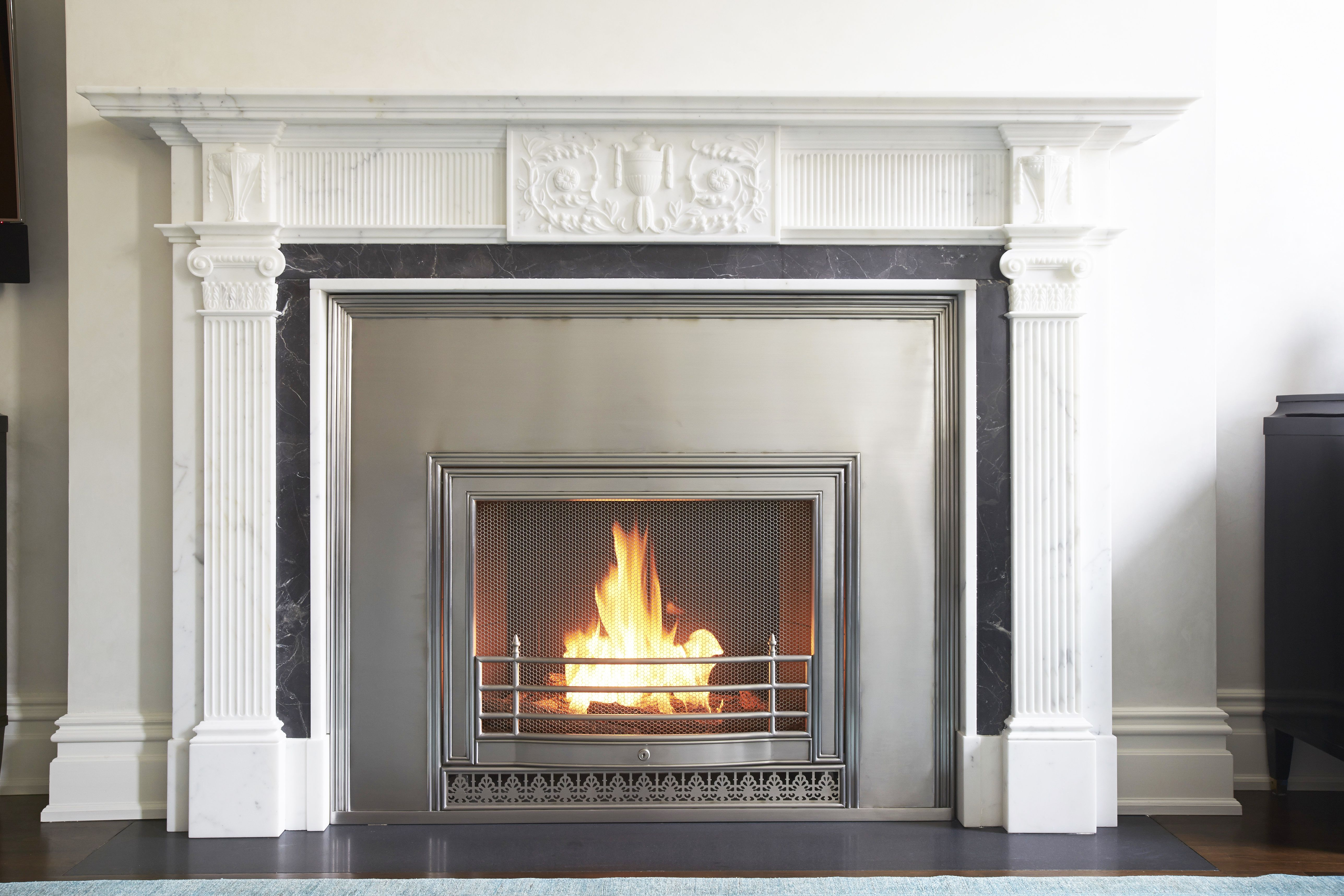 This Mantel Is Classic And Traditional And It Pairs Beautifully