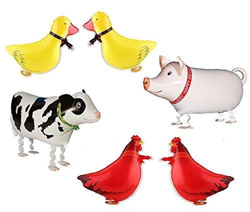 Ovee Lando Set of 6 Walking Farm Animal Helium Balloon Pe... https://www.amazon.com/dp/B06XKJJB3X/ref=cm_sw_r_pi_dp_x_kUClzbAYWTGK8