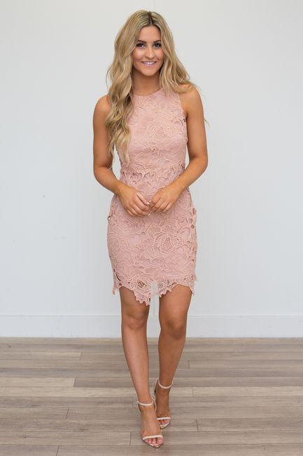 Coral Pink Dress #weddingguestdress