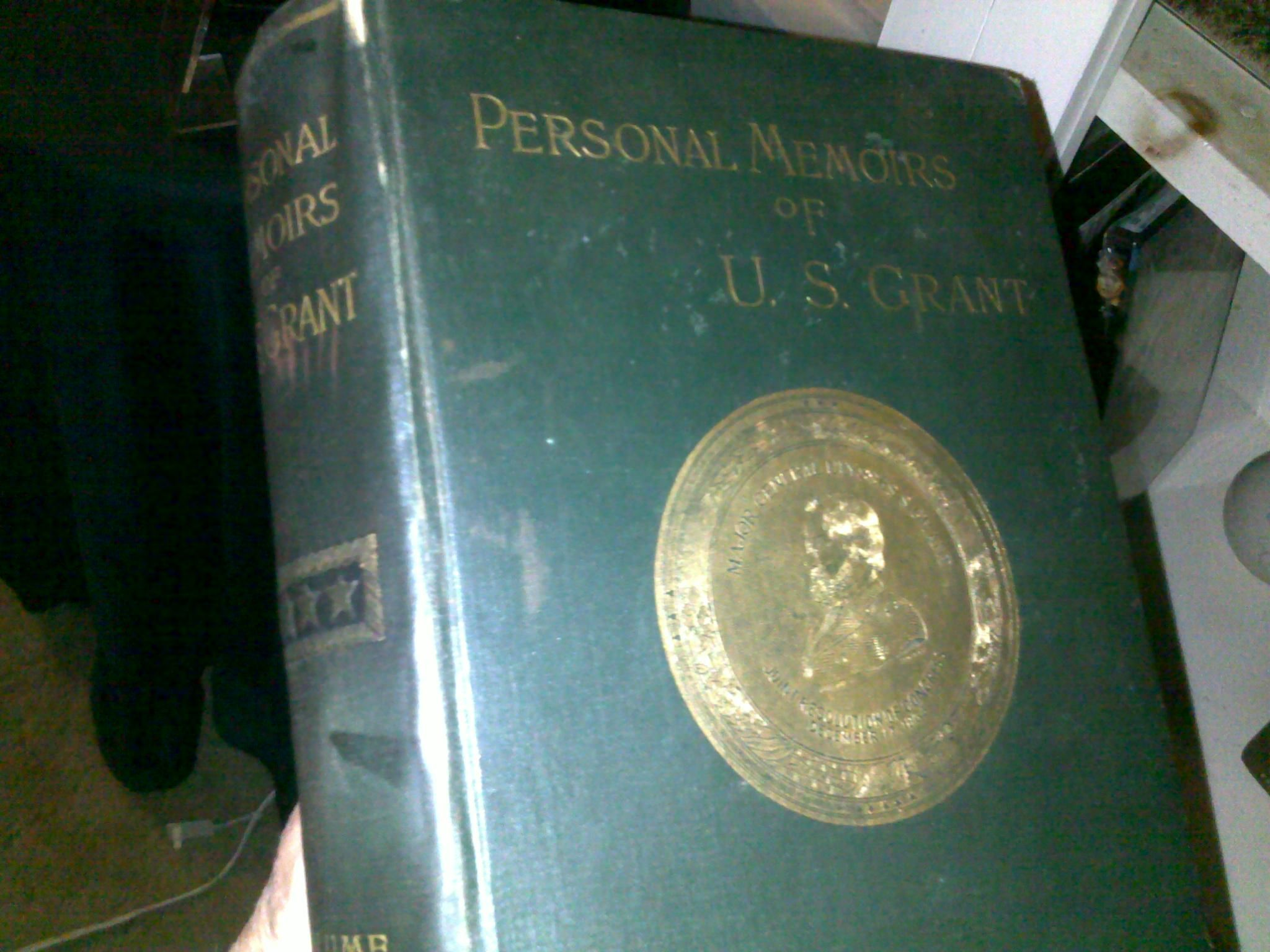 Personal memoirs of u s grant 1885 first edition by