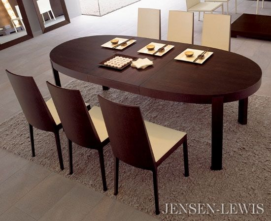 Calligaris atelier oval extension dining tablehttp www for Tavolo atelier calligaris