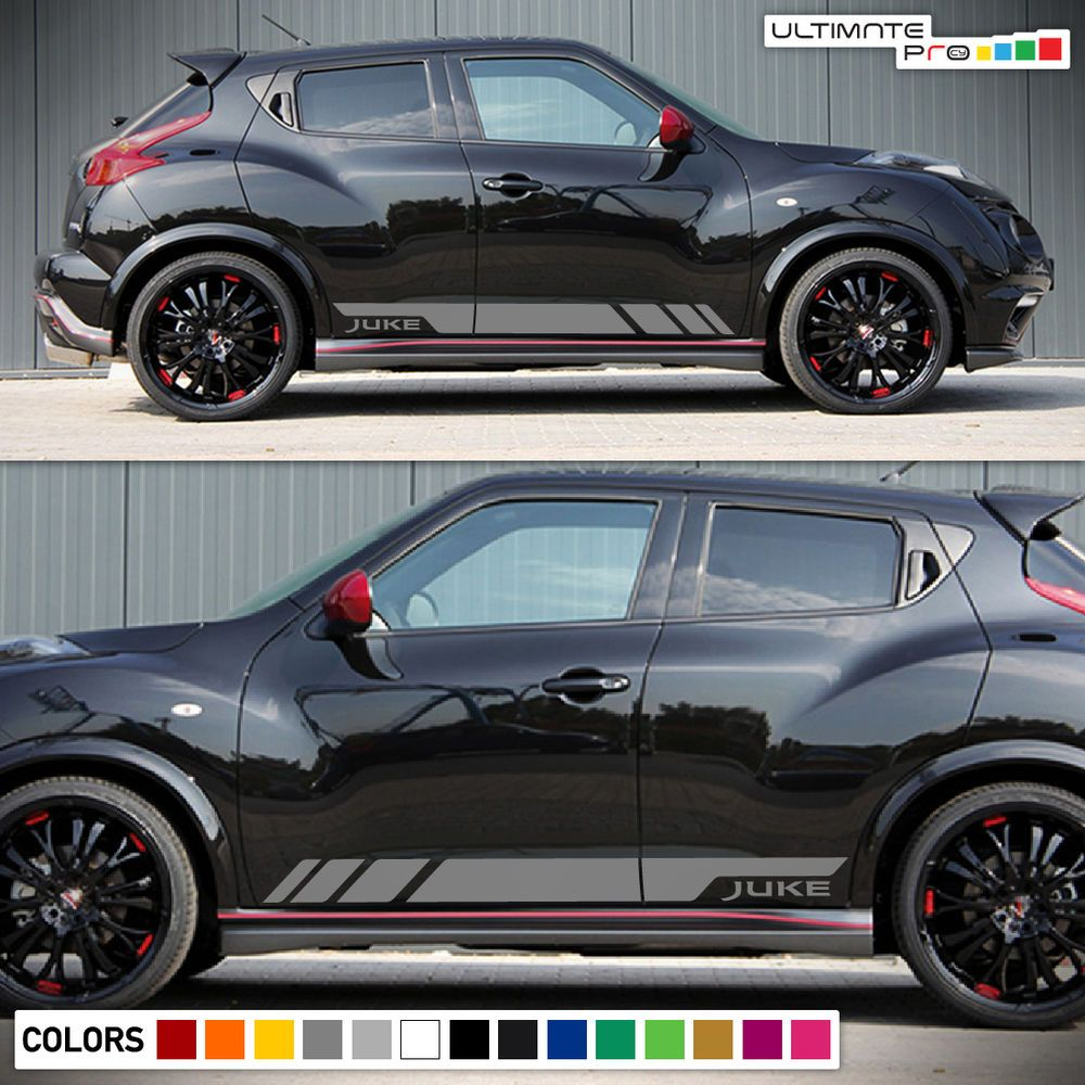 Sticker decal vinyl graphic side door stripe kit for nissan juke sport nismo sv ultimateprocy1