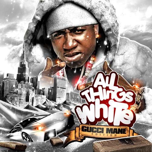 Gucci Mane - All Things White | Gucci Mane Mixtapes | Couch pillows
