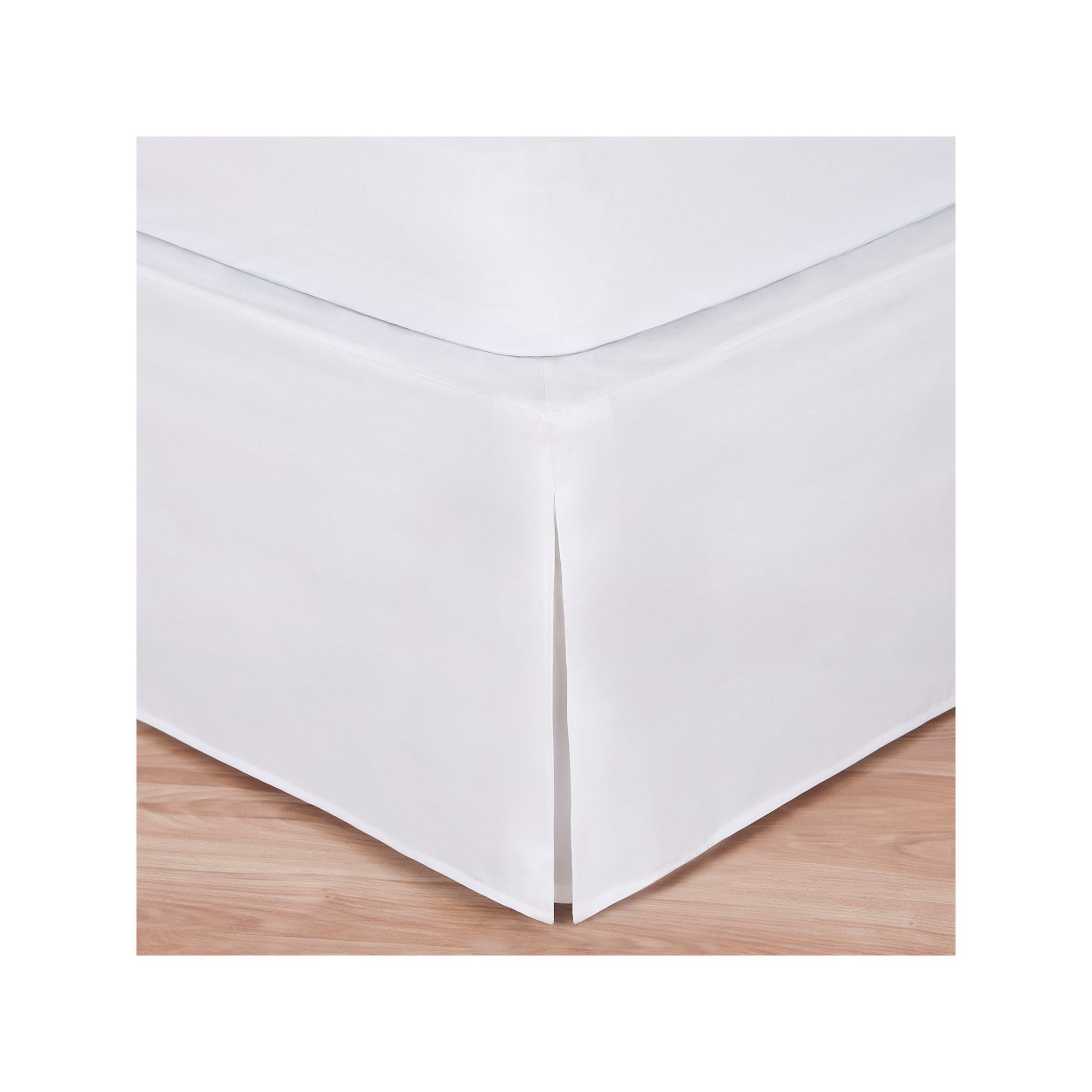 good news wrap around bed skirt white products