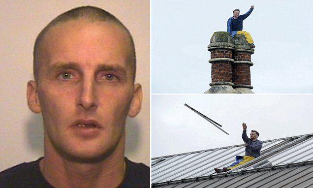 PRISON PROTEST: Convicted murderer stages rooftop protest at Strangeways prison