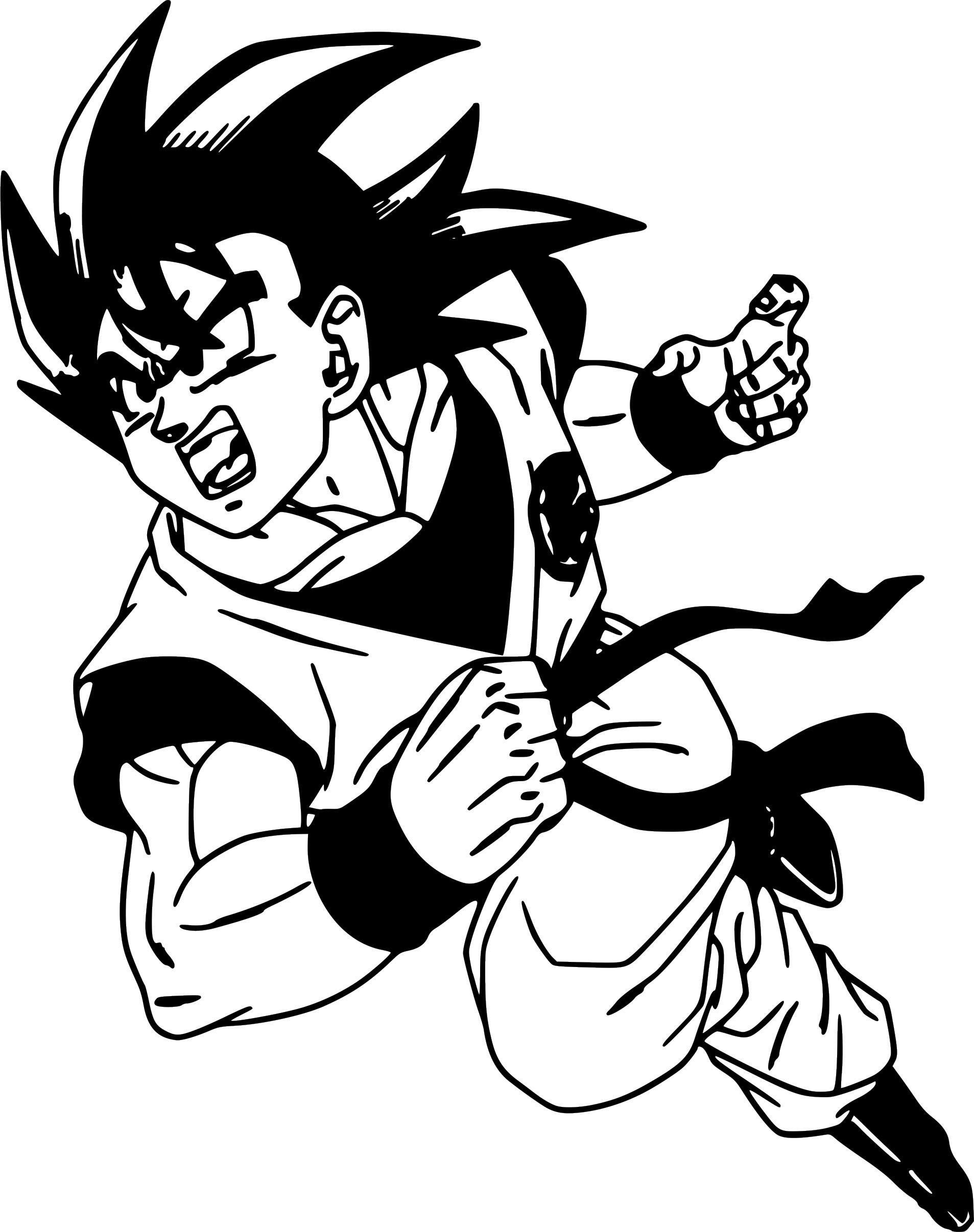 Goku Dragon Ball Z Vinyl Sticker Decal Goku decal