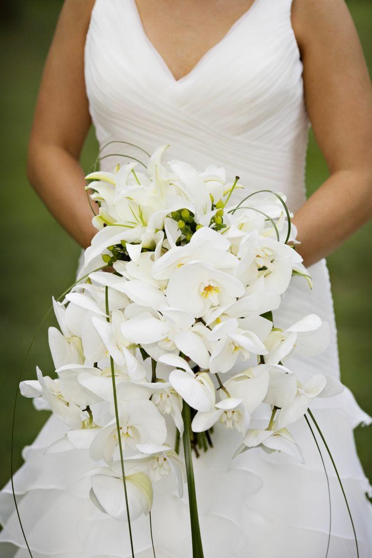 Bouquet Da Sposa Orchidee.1001 Idee Di Bouquet Sposa Per Scegliere Un Elemento