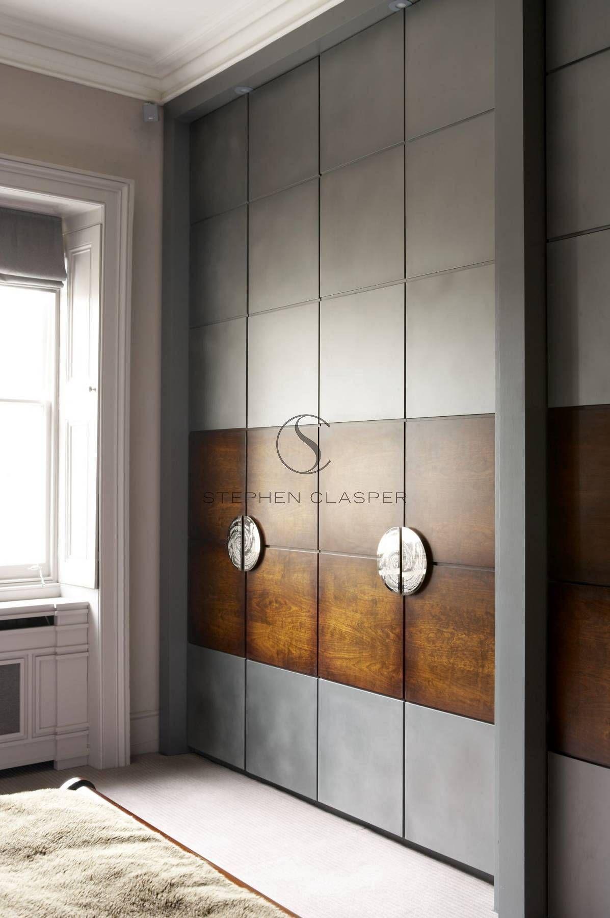closet doors. Interior Design: Kensington - Stephen ...