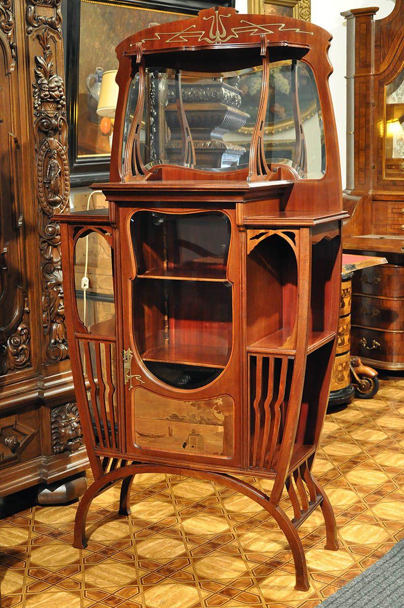 Unikatowa Serwantka W Stylu Secesyjnym 6019073999 Oficjalne Archiwum Allegro Art Nouveau Air Max 90 Decor