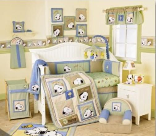 Snoopy Nursery The Theme We Picked Ian Is In Love Is