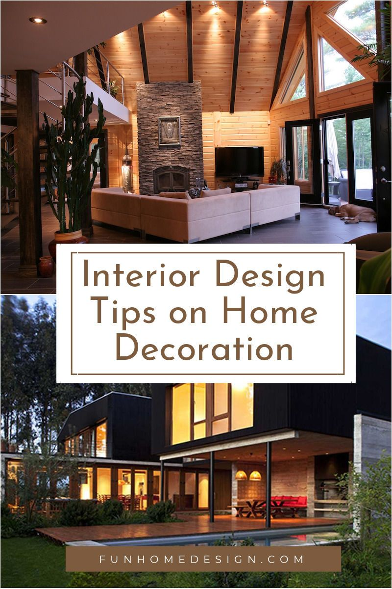 Interior design tips on home decoration in interior design