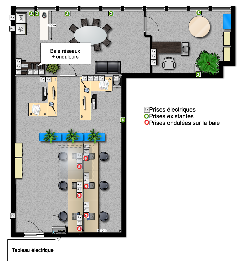 Electrical plan for an office | House Decor | Pinterest | Electrical ...