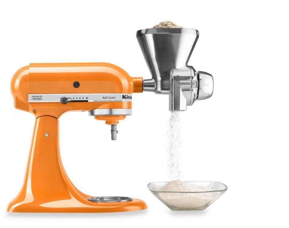 Kitchenaid grain mill attachment accessory stand mixer